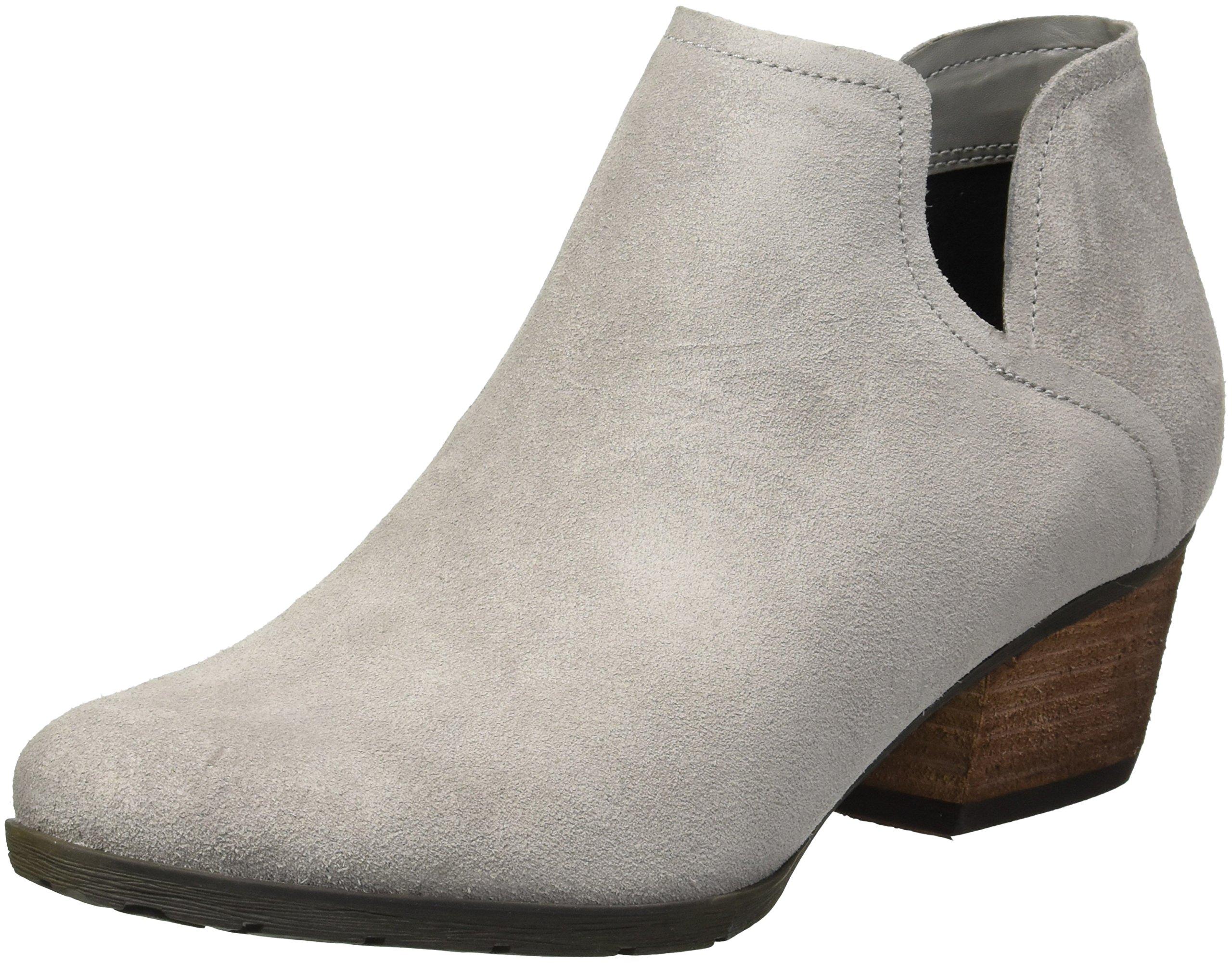 Blondo Women's Victoria Waterproof Rain Shoe, Light Grey Suede, 8 M US
