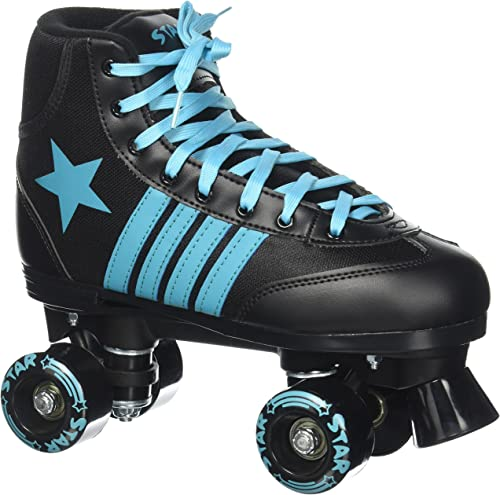 Epic Skates Star Hydra Indoor Outdoor High-Top Quad Roller Skates