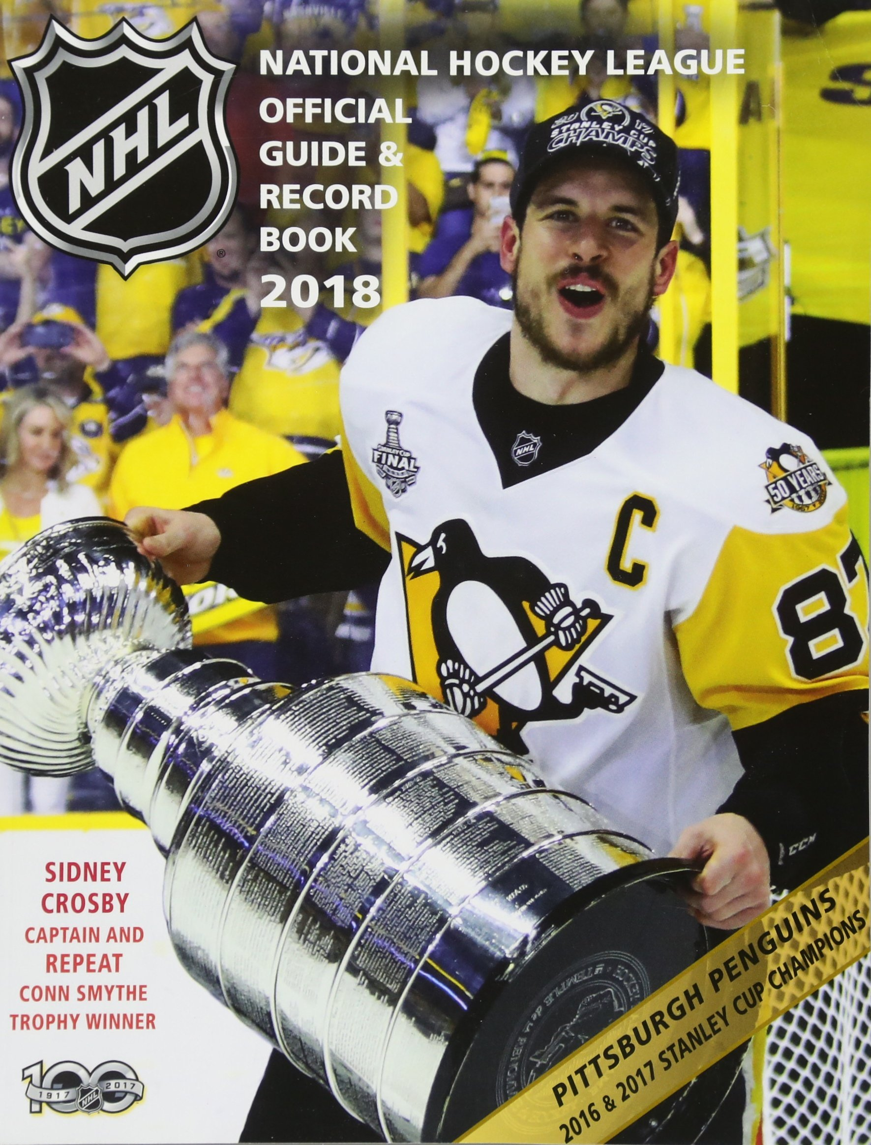 National Hockey League Official Guide Record Book 2018 National