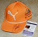 RICKIE FOWLER Signed PUMA Arnold Palmer Orange GOLF youth HAT + COA U88041 - JSA Certified - Autographed Golf Equipment