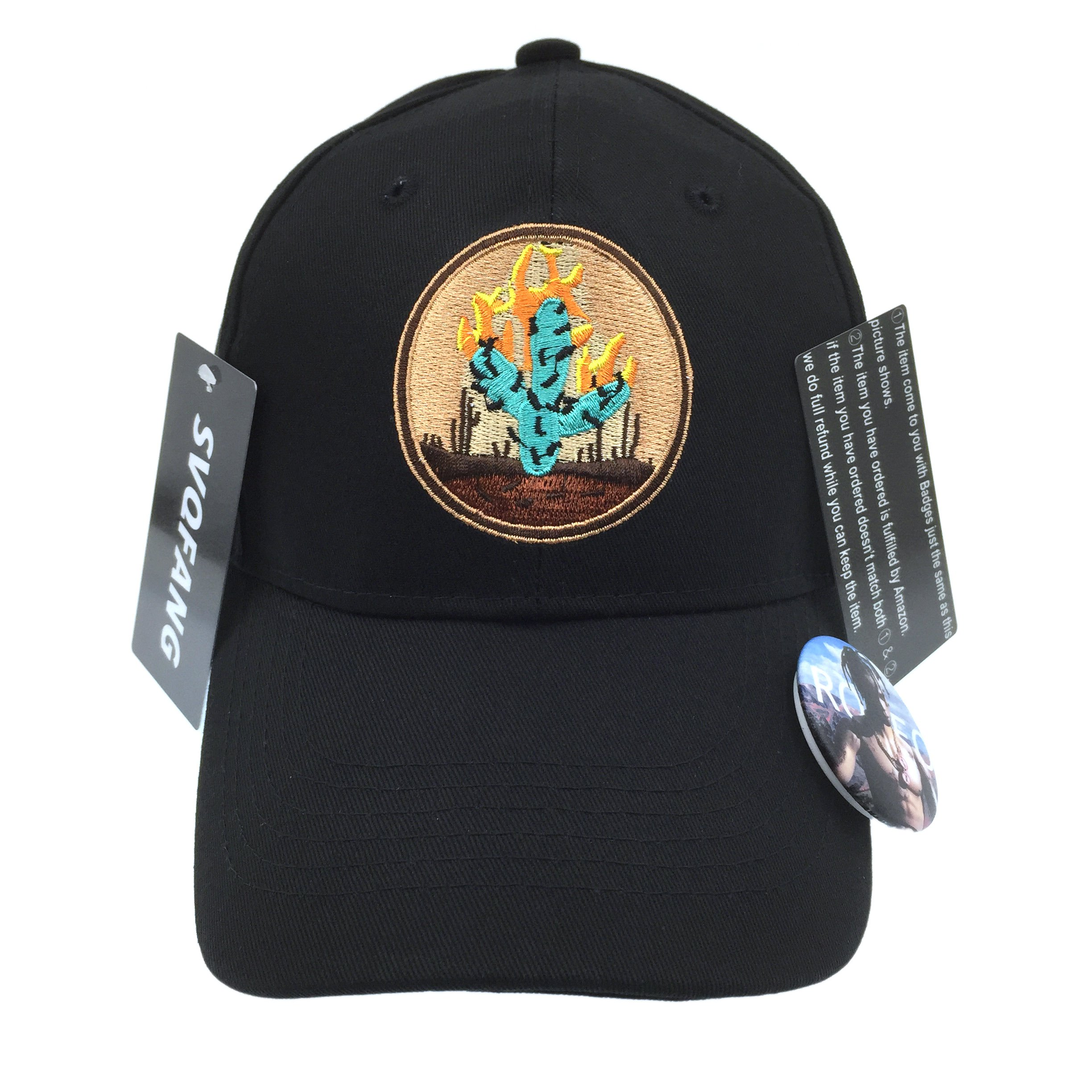 b3f1209d Travis Scott Rodeo Hat Cap Tour Merch Cactus Travi$ Strapback Black New  Apparel
