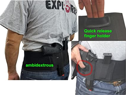 Hunting Ruger Belly Band To Carry Hidden Fits Glock Gun P238 Lcp And Weapons For Men And Women Of Similar Size Tactical Accessories