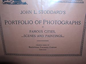 JOHN L STODDARD'S PORTFOLIO OF PHOTOGRAPHS 15 VOL YEAR 1894