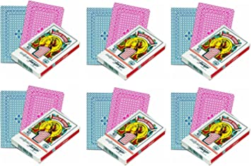 Outletdelocio. Pack de 6. Baraja española Fournier. 40 Cartas. En Caja de Carton: Amazon.es: Juguetes y juegos