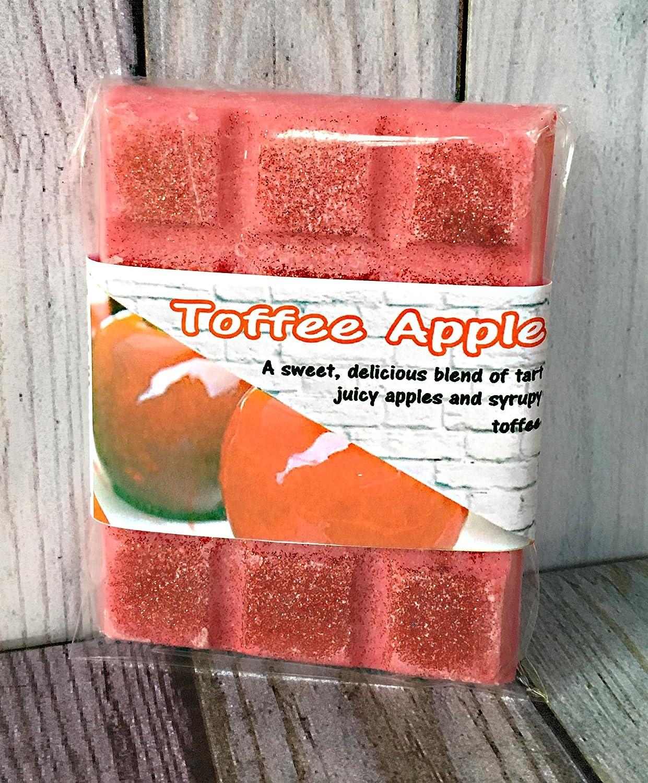 Toffee Apple Soy Wax Melt Bar Chunks