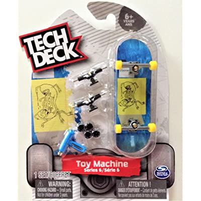 TECH DECK Toy Machine Series 6 Joshua Harmony Alien Sketch Ultra Rare #20087775: Toys & Games