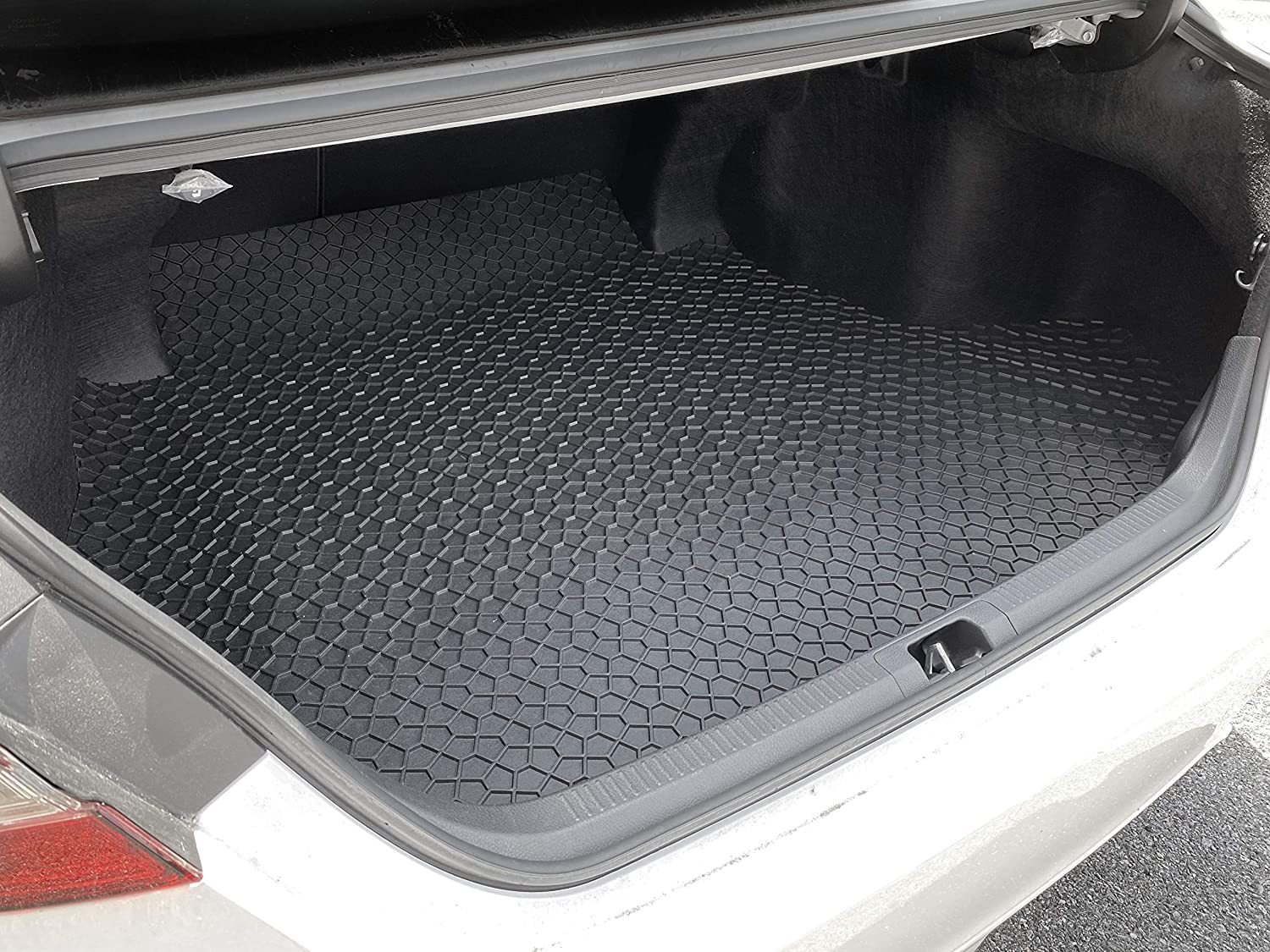 All Weather Anti-Slip Liner Black Rubber YelloPro Auto Custom fit Heavy Duty Car Floor Mat Accessories for 2018 2019 2020 Toyota Camry - Front /& 2nd Row Mats Made in USA 4pcs