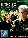 CSI: Crime Scene Investigation - Season 12.2 [3 DVDs]
