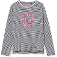 blue seven Mädchen T-Shirt, Rundhals Camiseta para Niñas