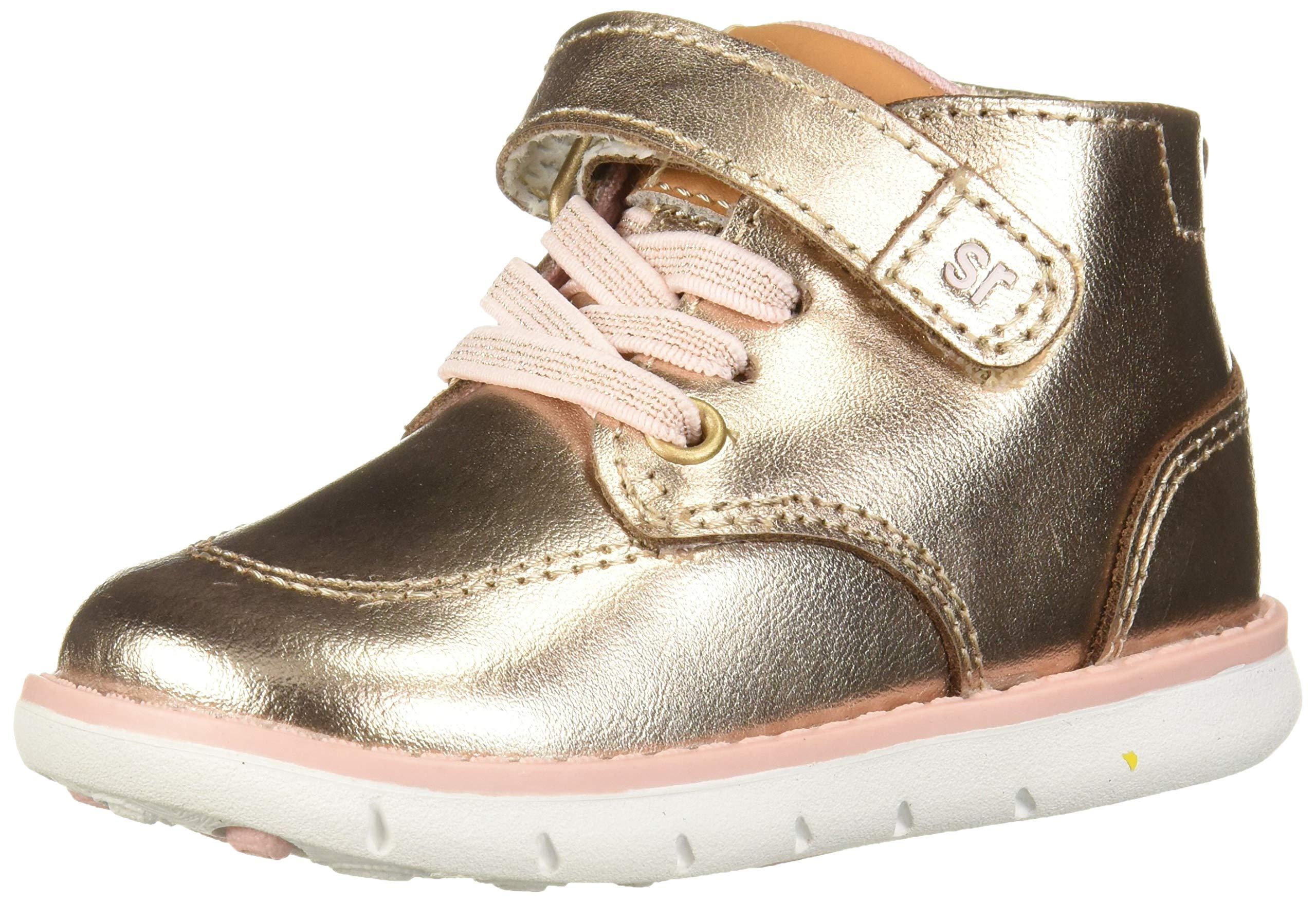 Stride Rite Boys' SRT Quinn Sneaker, Rose Gold, 6.5 W US Toddler by Stride Rite