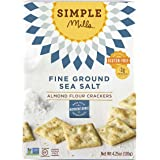 Simple Mills Almond Flour Crackers, 4.25 Ounce
