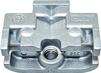 Gu Impuestos notebook (Bisagra) para puertas correderas Adecuado para 150 kg Variante (43225/Z410): Amazon.es: Bricolaje y herramientas