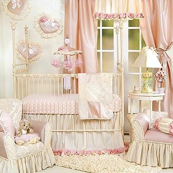 Baby Bedding New 7 Pcs Baby Bedding Set Baby Cot Crib Bedding Set Cartoon Animal Baby Crib Set Quilt Bumper Sheet Skirt Harmonious Colors