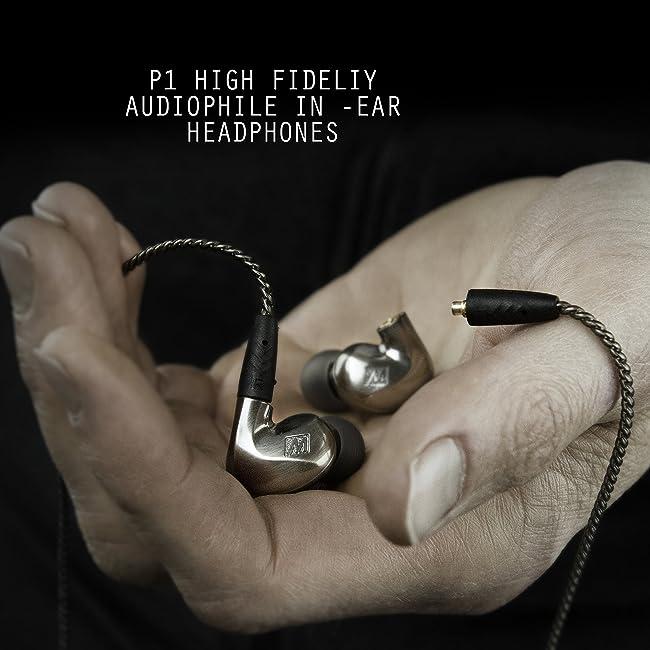 MEE audio Pinnacle P1 High Fidelity Audiophile In-Ear Headphones