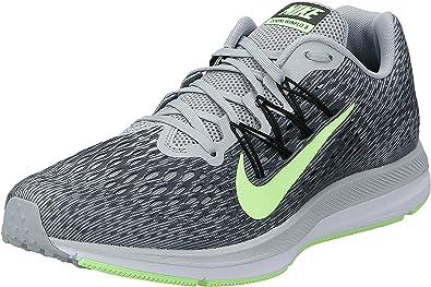 Nike Zoom Winflo 5, Zapatillas de Atletismo para Hombre, Multicolor (Wolf Grey/Lime Blast/Anthracite/Black 007), 47.5 EU: Amazon.es: Zapatos y complementos