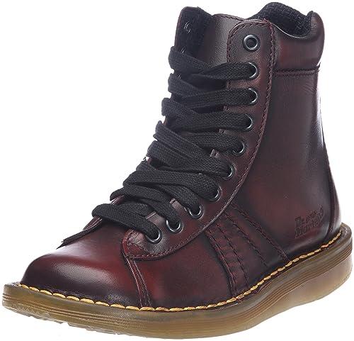 Dr. Martens - Botines de cuero mujer, color rojo, talla 37: Amazon.es: Zapatos y complementos