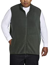 ca3b68f6a3200 Amazon Essentials Men s Big   Tall Full-Zip Polar Fleece Vest fit by DXL
