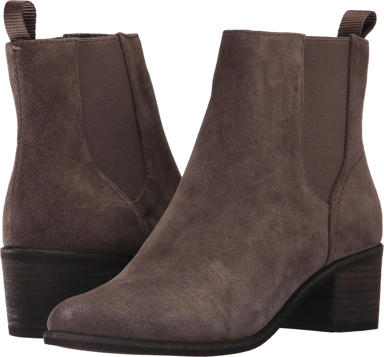 Dolce Vita Women's Colb Chelsea Booties B06ZY17ZK4 12 B(M) US|Grey Suede