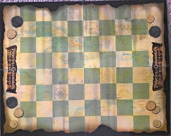 U-Pick Chess Pirates of the Caribbean Dead Man/'s Chest Replacement Pieces