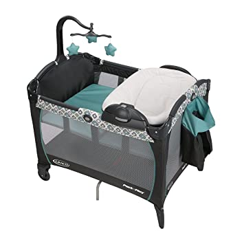 a6f74ff77ec70 Image Unavailable. Image not available for. Color  Graco Pack  n Play  Portable Napper and Changer Playard ...