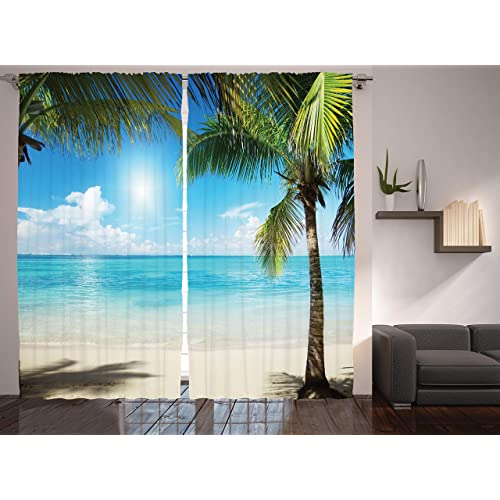 Image Result For Amazon Com Ambesonne Curtains For Living Room By