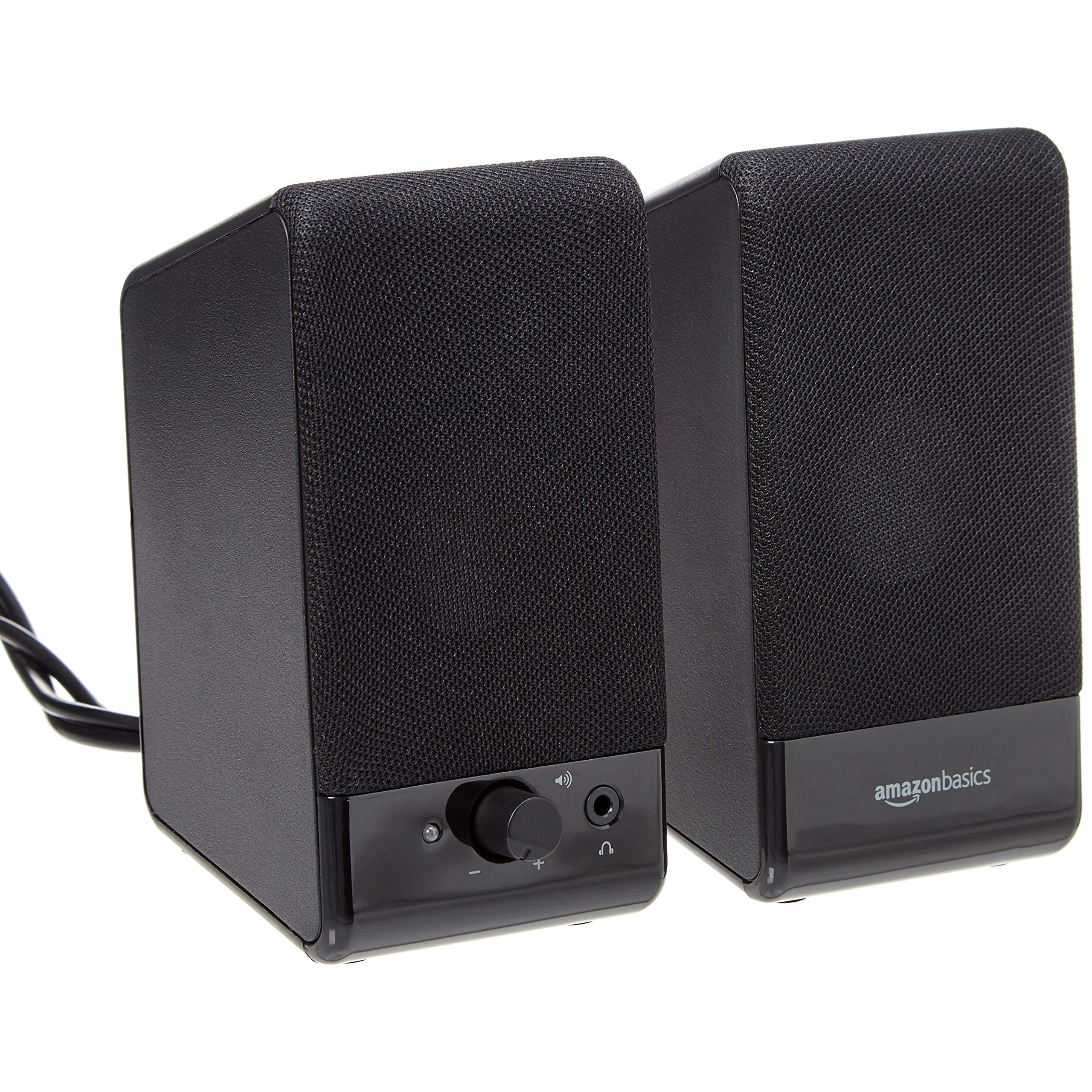 Amazon Basics Computer Speakers for Desktop or Laptop PC | USB-Powered