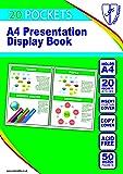 Tiger 300932 20 A4 Pocket Presentation Display Book - Black