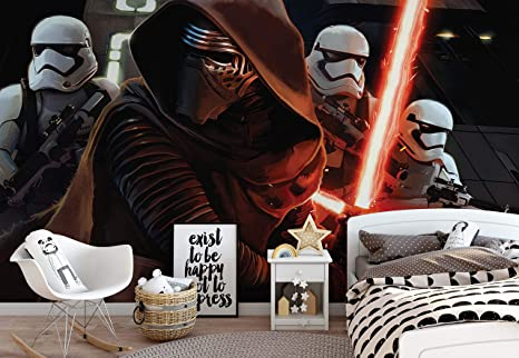Star Wars Despertar Hace Kylo Ren Papel Pintado Fotográfico Cuadro De Papel Pintado Fotográfico De Papel Pintado 2739ws Papel No Fieltro Xxl