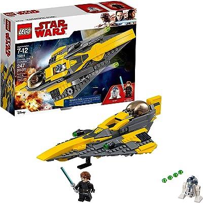 LEGO Star Wars: The Clone Wars Anakin's Jedi Starfighter 75214 Building Kit (247 Pieces) (Renewed): Toys & Games