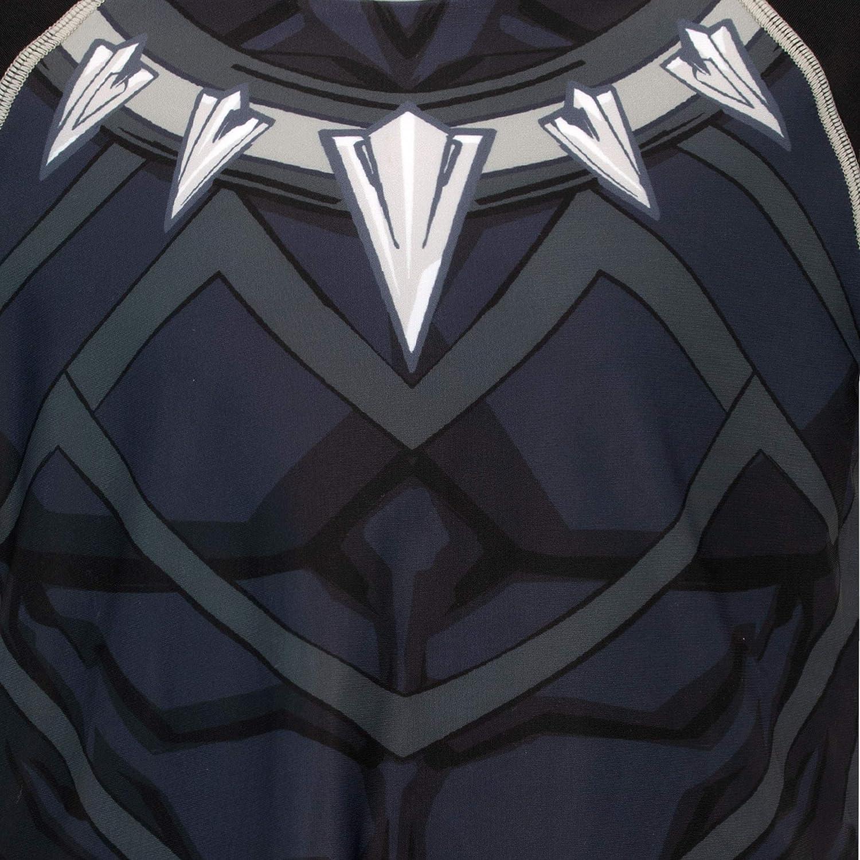 Gar/çon Maillot de Bain Deux pi/èces Black Panther Marvel