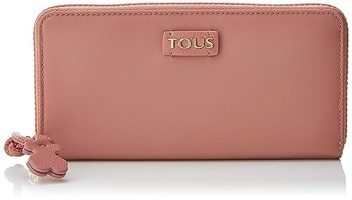 Tous Billetera Mediana Doromy, Cartera para Mujer, Multicolor (Rosa/Topo),