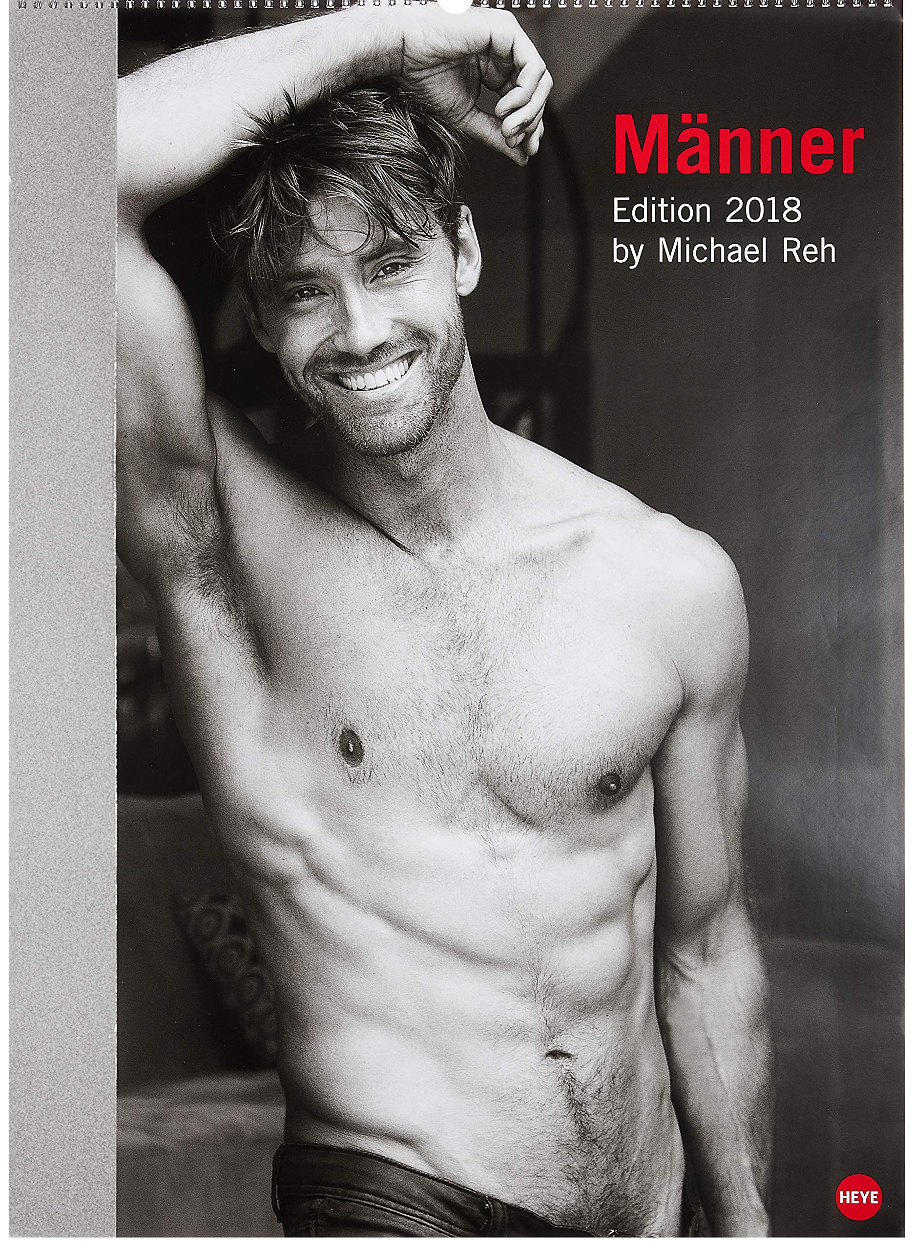 Männer Edition - Kalender 2018 Kalender – 16. Mai 2017 Michael Reh 3840148820 Fotografie Akt (Fotografie) (Kalender)