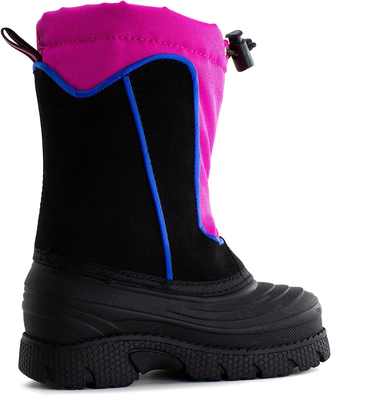 Fuchsia, 10 Link Bungee Toggle Water Proof Winter Boots