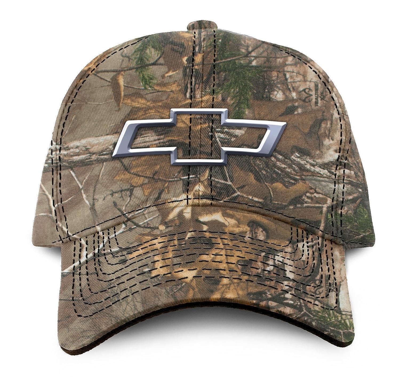 51ebd0845858 Amazon.com  Buck Wear Chevy-Bowtie Camo Hat
