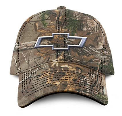 f06badb3818 Amazon.com  Buck Wear Chevy-Bowtie Camo Hat