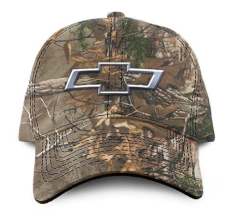Amazon.com  Buck Wear Chevy-Bowtie Camo Hat a78a03d57dd0