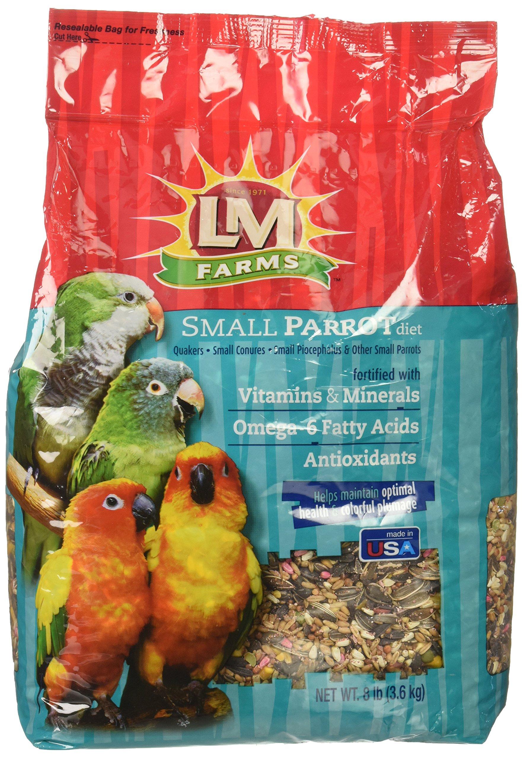 L/M Animal Farms BLM12211 4-Piece Small Parrot Toy, 8-Pound