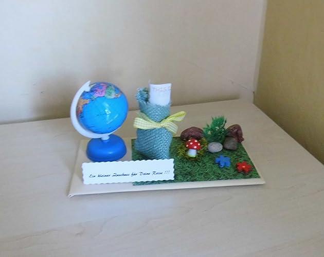 Geldgeschenk Geburtstag Reise Urlaub Weltreise Amazon De Handmade