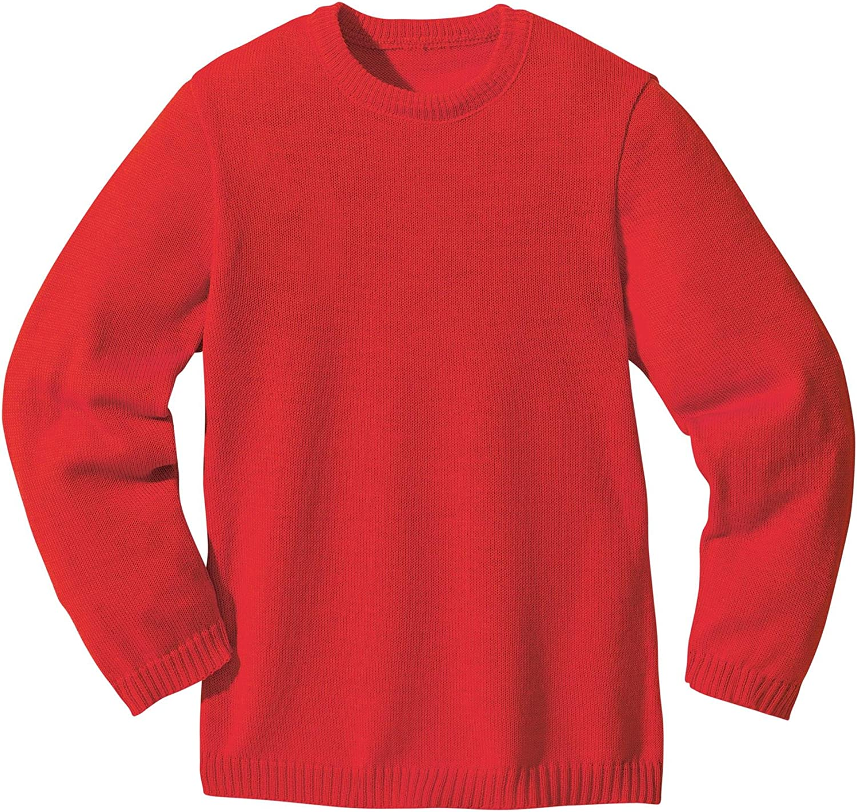 Disana basic sweater woollen knitted sweater