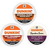 Dunkin' Mixed Roast Coffee Variety Pack, 60 Keurig K-Cup Pods