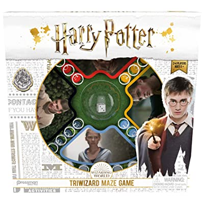 Pressman Harry Potter Tri-Wizard Tournament - Capture The Cup Game: Toys & Games