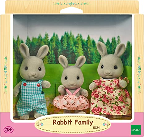 Sylvanian Families 5128 Maus Familie Spielzeug Mehrfarbig
