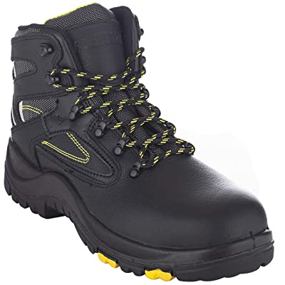"EVER BOOTS ""Protector Men's Steel Toe Industrial Work Boots Safety Shoes Electrical Hazard Protection 