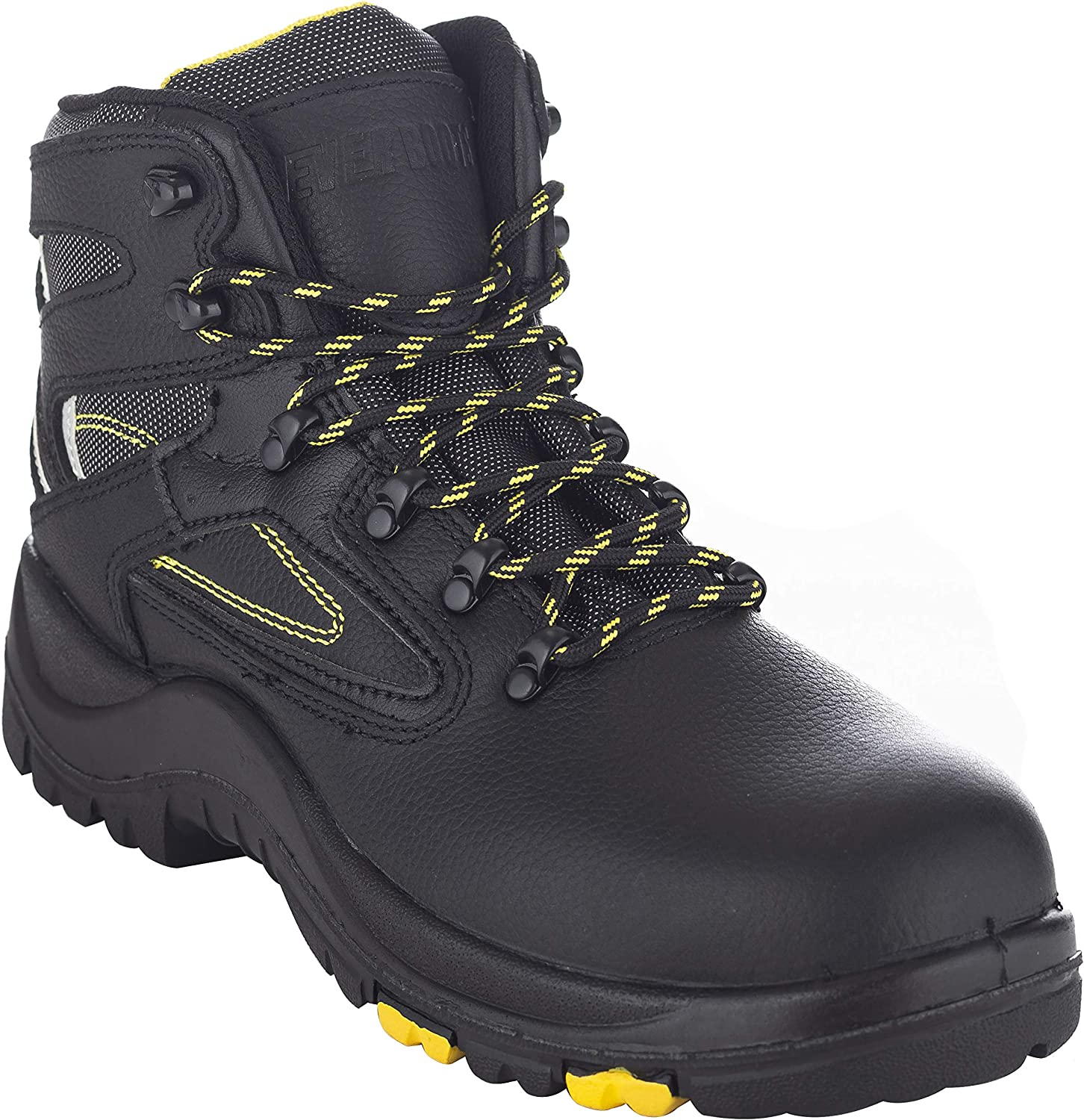 "EVER BOOTS ""Protector Men's Steel Toe Industrial Work Boots Safety Shoes Electrical Hazard Protection"