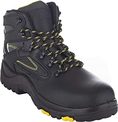 Toe Guard Storm Safety Shoes with Steel Toe Caps and Midsole Mens /& Womens