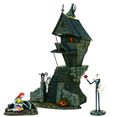 Department 56 Nightmare Before Christmas - Jack Skellington's House St/3