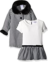 Amazon.com: Youngland Baby Girls' Houndstooth Dress and Coat ...