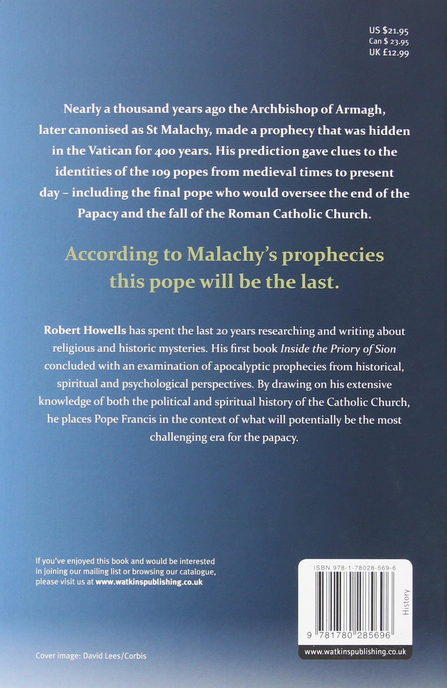 The Last Pope: Francis And The Fall Of The Vatican: Robert Howells:  9781780285696: Amazon: Books