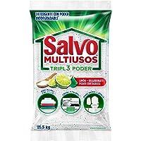 Salvo Detergente En Polvo Con Limón-bicarbonato Salvo Multiusos Tripl3 Poder 5 Kg , color, 5000 gram, pack of/paquete de