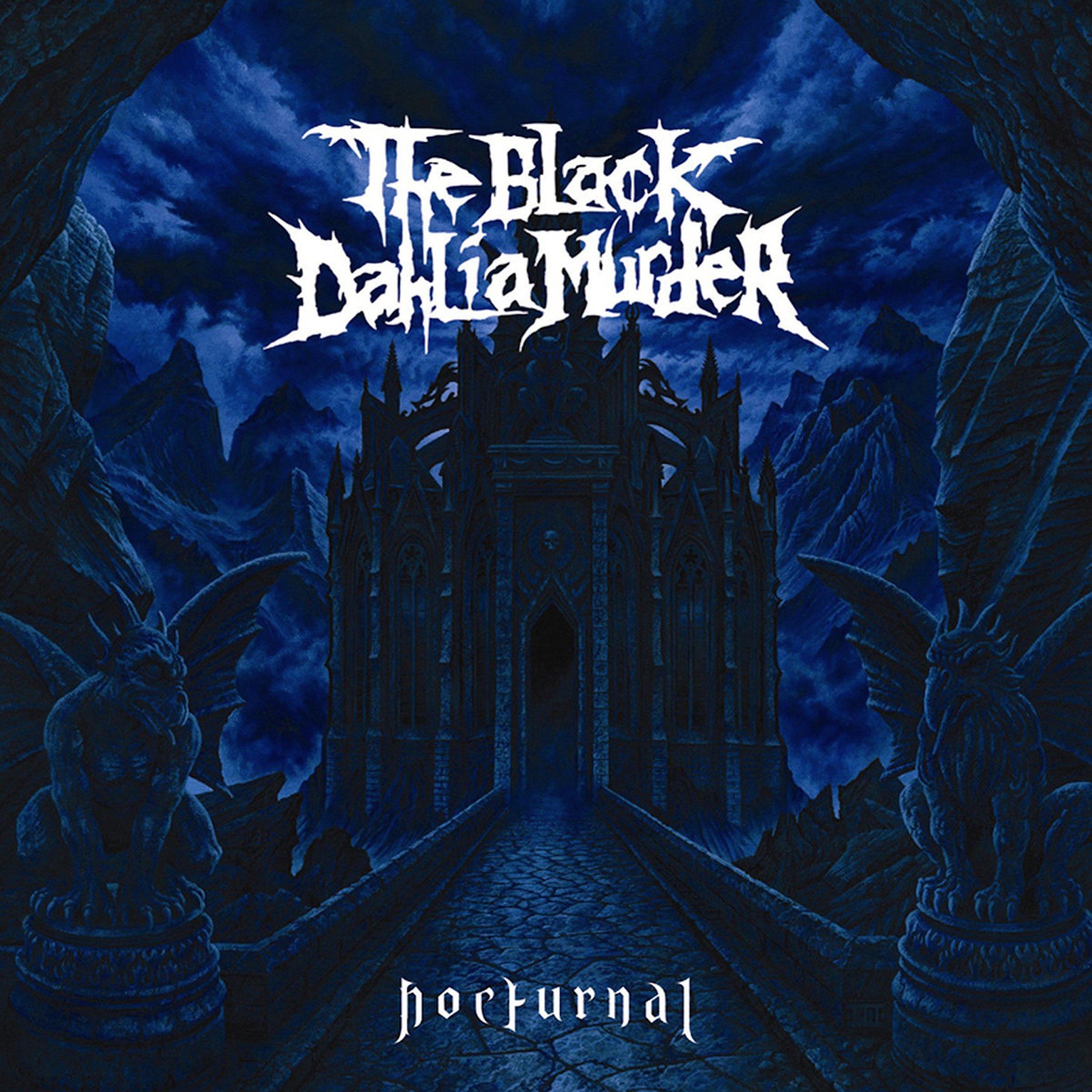 Vinilo : The Black Dahlia Murder - Nocturnal (Colored Vinyl, White, Blue)